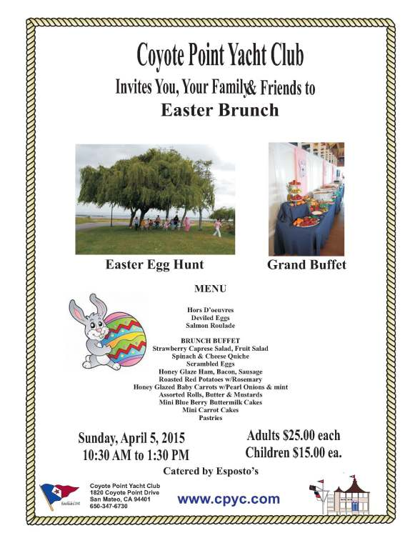 2015 easter brunch