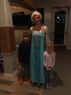 Elsa and some young friends.