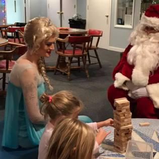 Santa and Elsa 12-8-2017